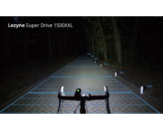 Lezyne Super Drive 1500XXL Loaded Fietslamp