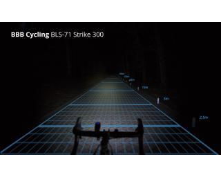 BBB Cycling StrikeCombo 300L BLS-73 Beleuchtungsset