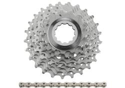 Shimano <b>+ KMC</b> Ultegra 6700 10-speed