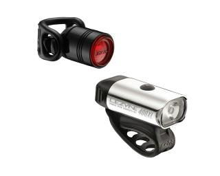 Lezyne Hecto Drive 400XL & Femto Drive Light Set Grey