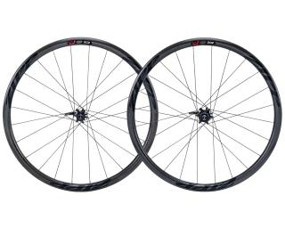 Zipp 202 Firecrest Carbon Clincher Disc Road Bike Wheels Black