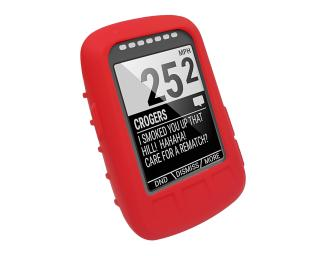 Tuff Luv Wahoo ELEMNT Bolt Silicone Case Red