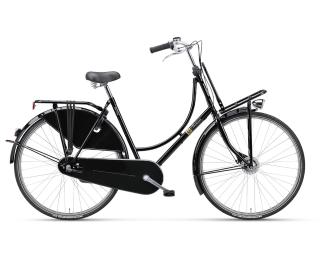 Batavus Old Dutch 3 Plus Transportfiets Zwart