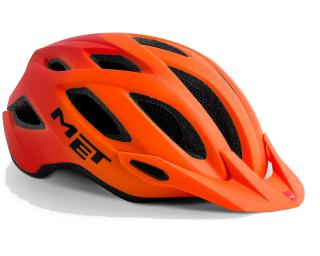MET Crossover MTB Helmet Orange