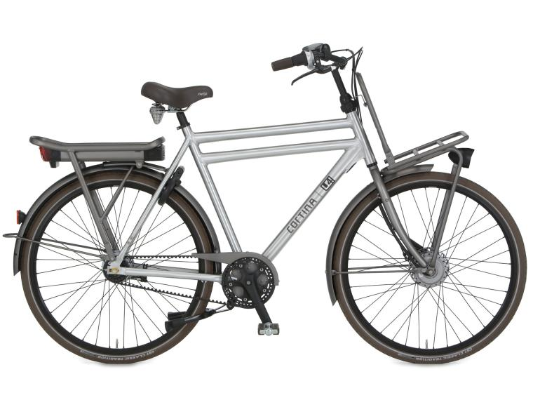 Cortina E-U4 Raw Belt Elektrische Fiets Heren
