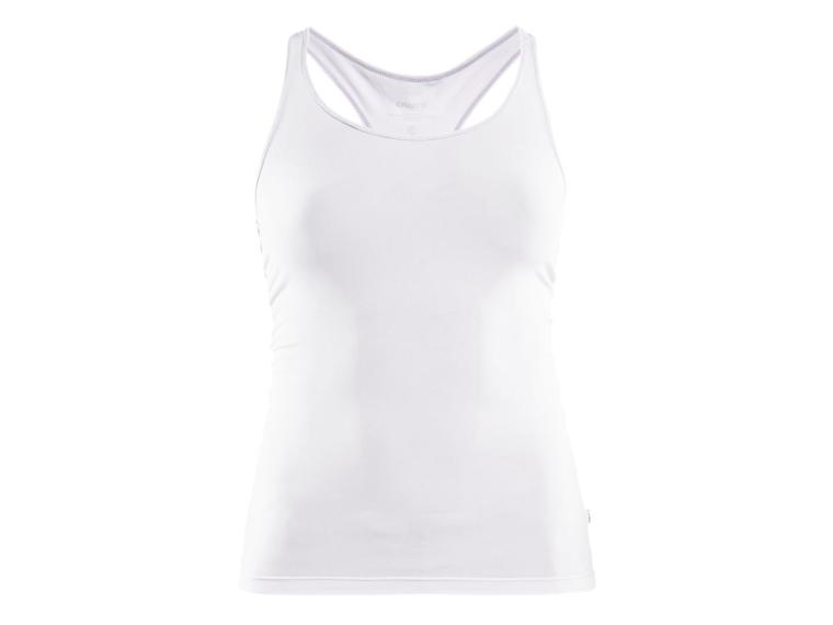 Craft Essential Racerback Singlet Undershirt White