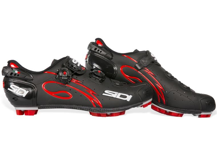 Sidi Drako MTB Schoenen Matt Black / Red