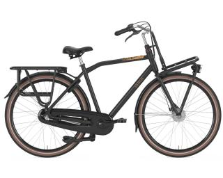 Gazelle Heavy Duty 3V Transportfiets Heren / Zwart