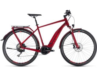 Cube Touring Hybrid EXC 500 Heren / Rood