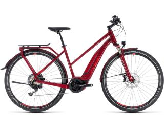 Cube Touring Hybrid EXC 500 Rood