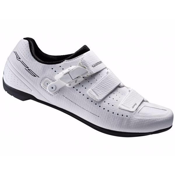 Blanc Chaussures Shimano Avec Fermeture Velcro Pour Les Femmes M444dBOPkL