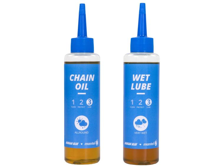 Morgan Blue Chain Oil + Wet Lube