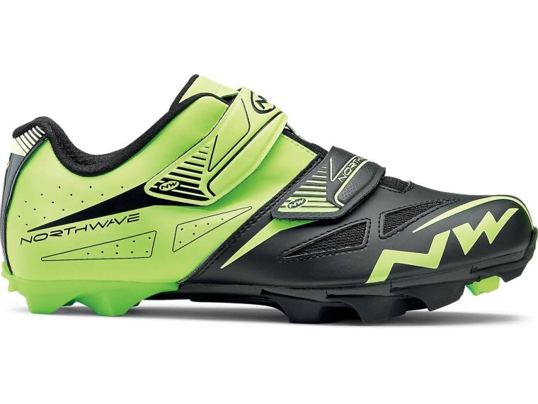 Northwave Spike Evo MTB Shoes Yellow Fluo / Black