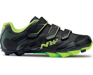 Northwave Scorpius 2 MTB Shoes Black / Yellow Fluo