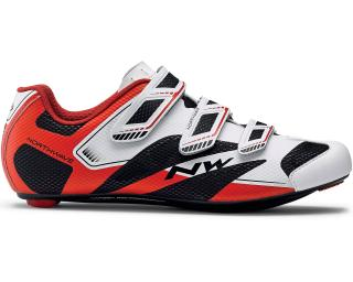 Northwave Sonic 2 Road Shoes White / Red / Black