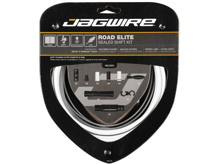 Jagwire Road Elite Sealed Shift White