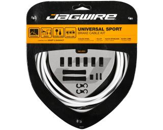 Jagwire Universal Sport Brake Cable set White