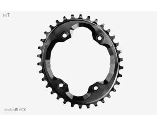 AbsoluteBLACK Narrow Wide Oval Chainring XTR M9000