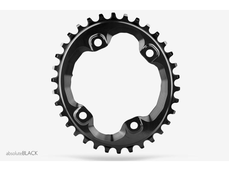 AbsoluteBLACK Narrow Wide Oval Chainring XT M8000