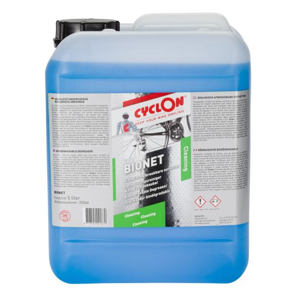 Cyclon Bionet Cleaning 5 ltr can | polish_and_lubricant_component