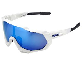 100% Speedtrap Cycling Glasses Blue / White