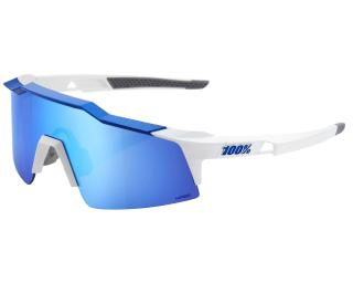 100% Speedcraft SL Cycling Glasses Blue / White
