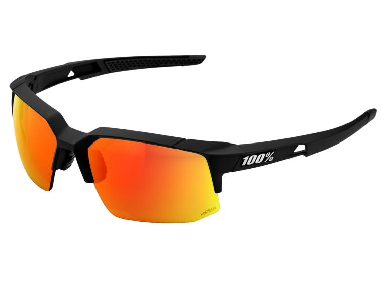 100% Speedcoupe HiPER Cycling Glasses Soft Tact Black