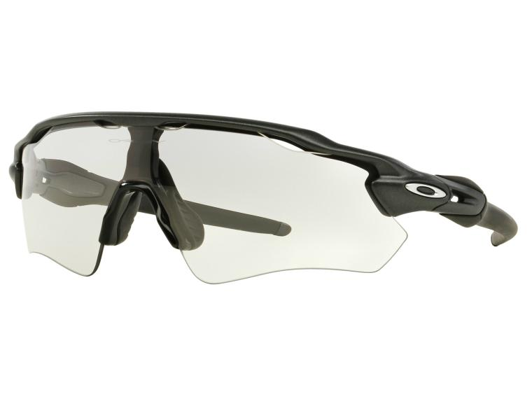 Oakley Radar EV Photochromic Cycling Glasses Steel