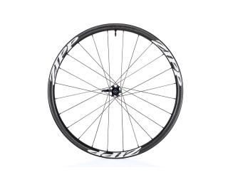 Zipp 202 Firecrest Carbon Clincher Tubeless Disc Road Bike Wheels Front Wheel / White