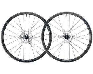 Zipp 202 Firecrest Carbon Clincher Tubeless Disc Road Bike Wheels Set / Black