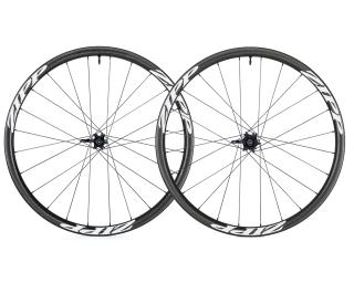 Zipp 202 Firecrest Carbon Clincher Tubeless Disc Road Bike Wheels Set / White