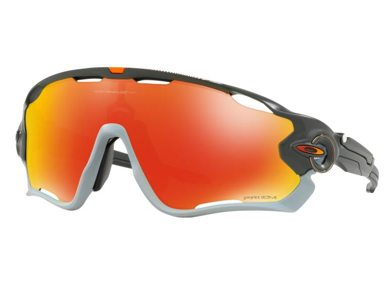 b38b6161be Oakley Jawbreaker Prizm Ruby Cycling Glasses Aero Matte Grey