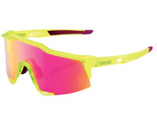 100% Speedcraft Cycling Glasses Yellow