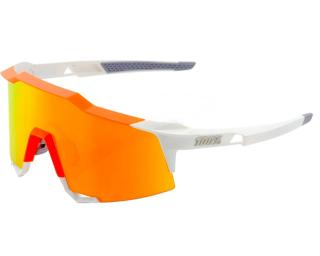 100% Speedcraft Cycling Glasses White