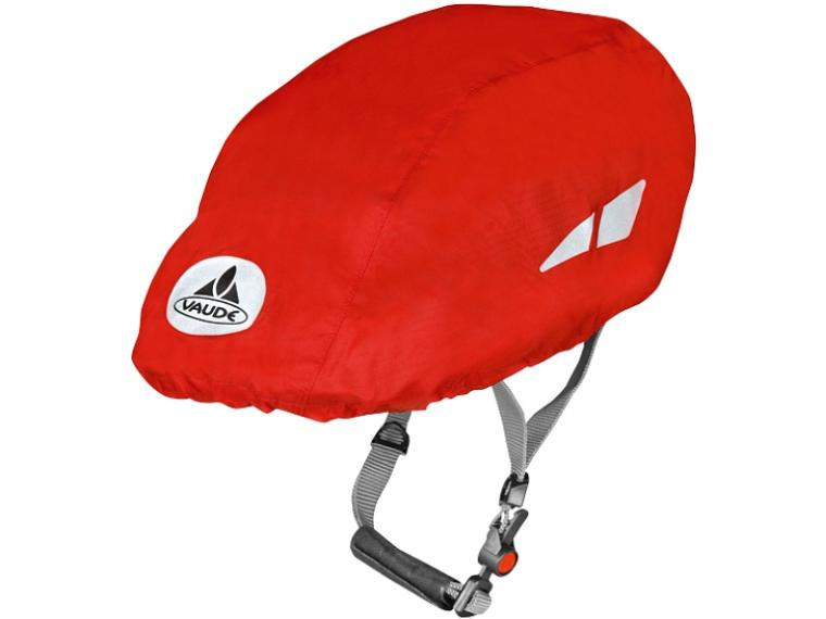 Vaude Helm Raincover Red