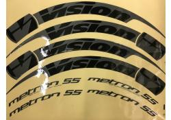 Vision Metron 55 Stickers