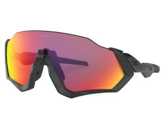 Occhiali per Bici Oakley Flight Jacket Prizm Road Nero