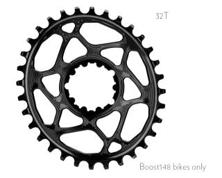 AbsoluteBLACK Sram Oval Boost 148 Kettingblad
