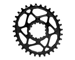 AbsoluteBLACK Spiderless Oval Chainring Black