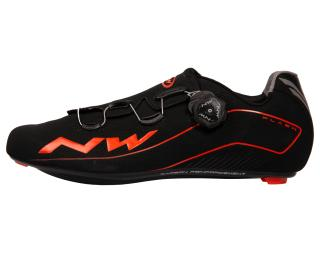 Northwave Flash Road Shoes Black / Orange
