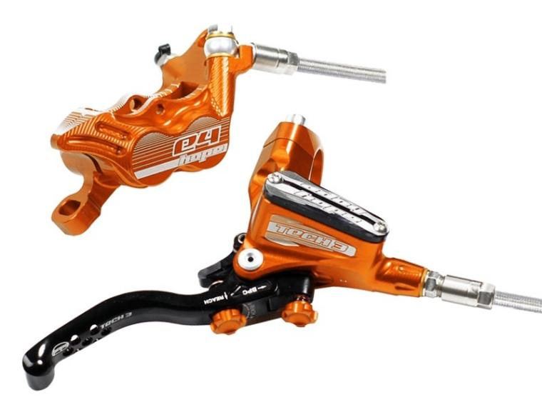 Hope Tech 3 E4 Disc Brake Orange