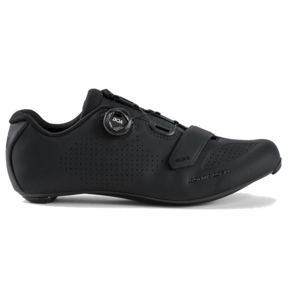 SKO BONTRAGER VELOCIS SORT | Shoes and overlays