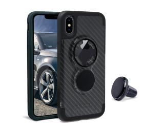 Rokform Crystal Case iPhone X Carbon