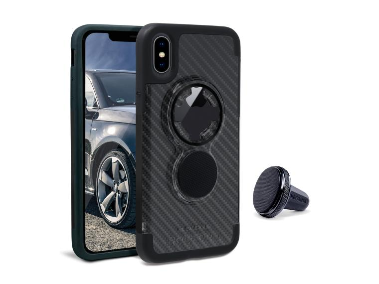Rokform Crystal Case - iPhone Smartphone Case Carbon