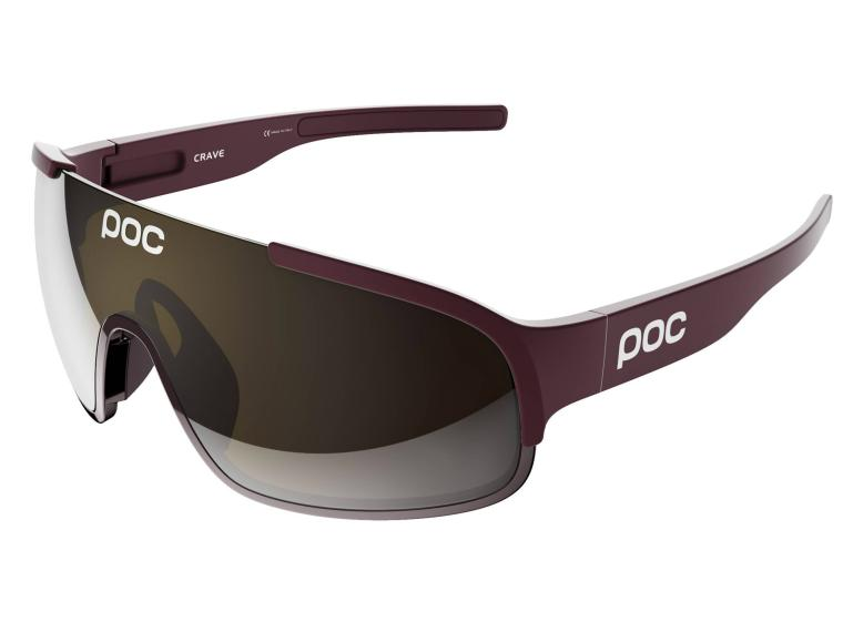 POC Crave Cycling Glasses Thaum Red