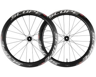Scope R5D Road Bike Wheels White
