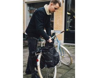 AGU Urban Trend H2O Roll-Top Double Pannier Black