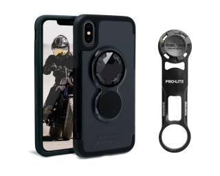 Rokform Bike Mount Kit Iphone X Crystal Case Telefoonhouder Zwart
