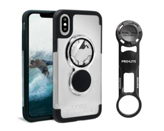 Rokform Bike Mount Kit Iphone X Crystal Case Telefoonhouder Clear