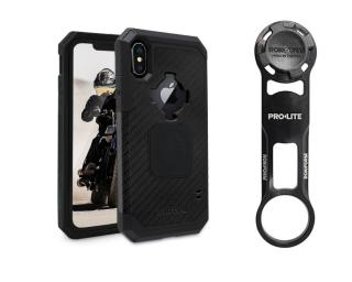 Rokform Bike Mount Kit Iphone X Rugged Case Black Telefoonhouder